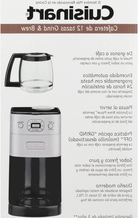 Cuisinart & Brew 12-Cup