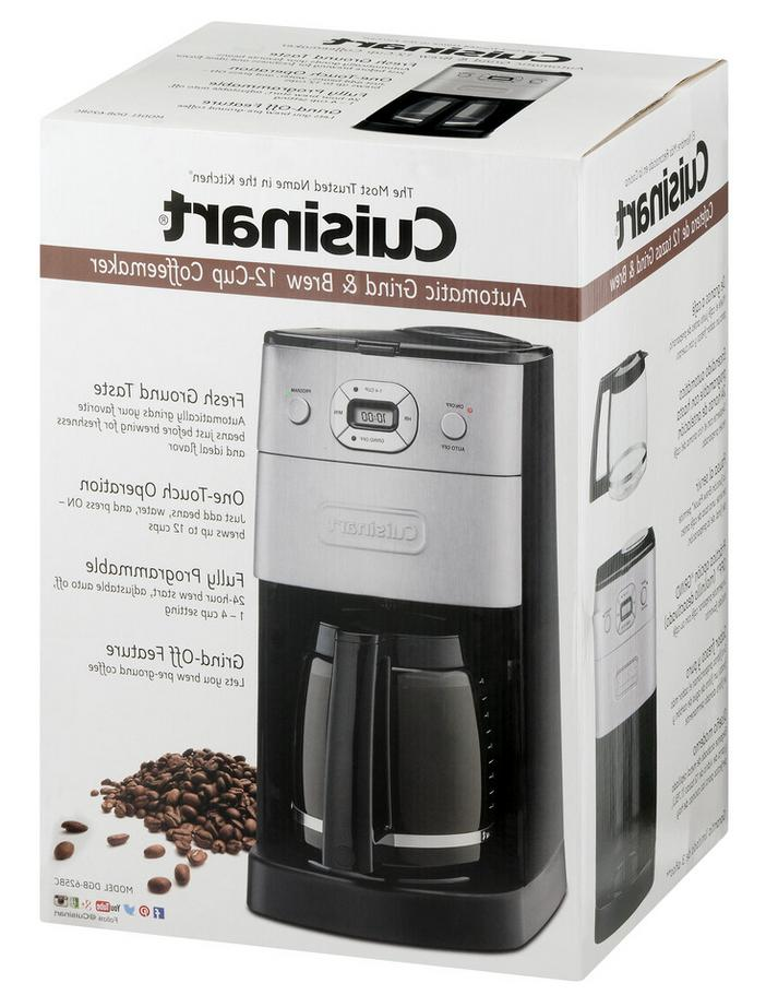 Cuisinart Grind Brew 12-Cup Automatic Maker 100%