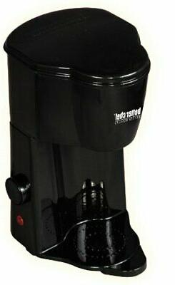 Personal Coffee Maker 1 Cup Single Serve Pods Brewer Black N