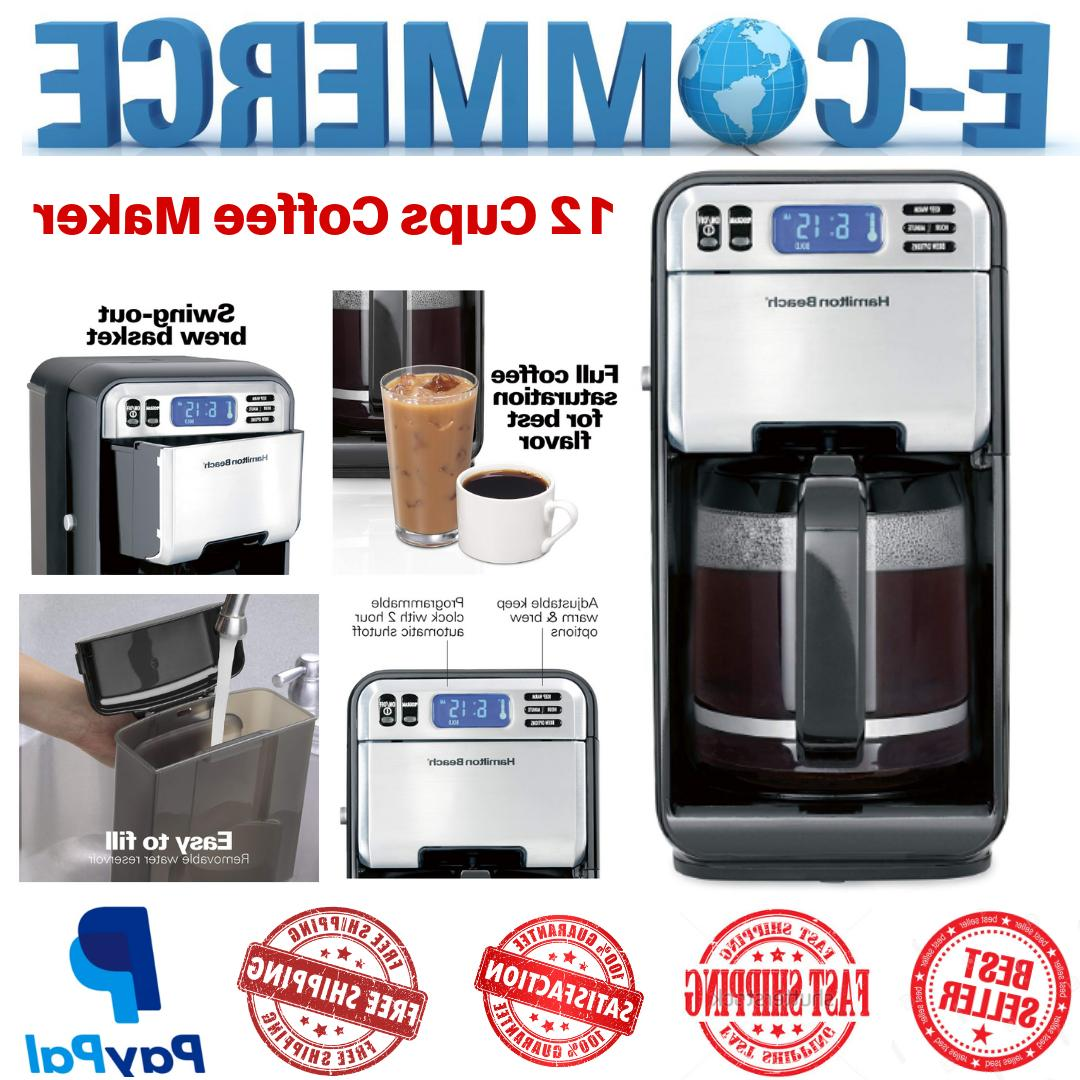 Programmable & Smart Coffee Maker With Automatic Serve For H