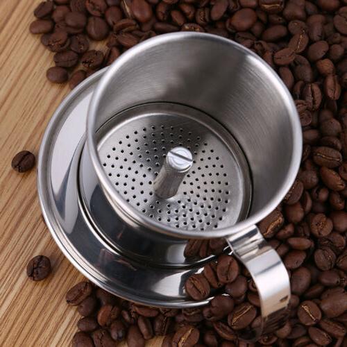 Stainless Vietnamese Coffee Maker Drip