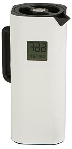 Mind Reader TEMPITCH-WHT Double Walled Thermal Carafe, Holds