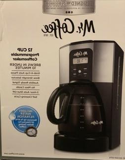 Mr. Coffee BVMC-ECX41 Design To Shine 12-Cup Programmable Co