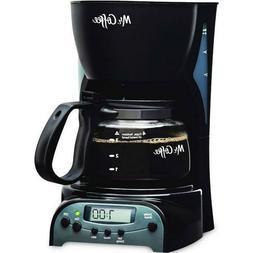 Mr. Coffee DRX5 4-Cup Coffee Maker - Black