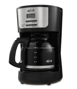 Mr. Coffee® FLX Series 12-Cup Programmable Coffeemaker, Bla