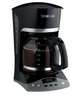 Mr. Coffee Programmable Coffeemaker Auto Shut-Off, Pause 'N
