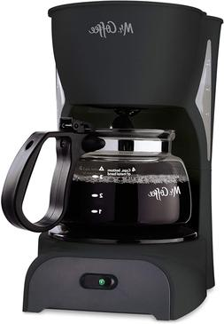 Mr. Coffee Simple Brew Coffee Maker|4 Cup Coffee Machine|Dri