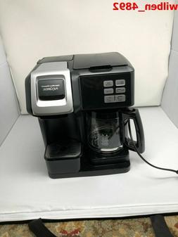 NEW Hamilton Beach 49976 FlexBrew 2-Way Coffee Maker