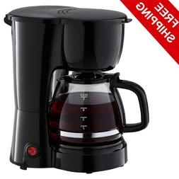 New 5 Cup Coffee Maker Brew Pot Kitchen Appliance Electric B