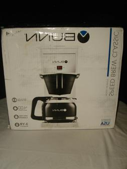 NIB BUNN GR White Speed Brew Classic Coffee Maker WHITE 10 C