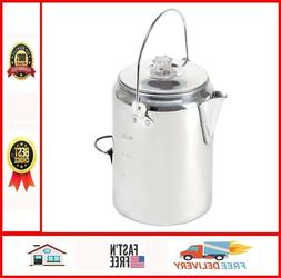 Outdoor Coffee Maker Camping Pot Stove Top Percolator Parts