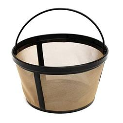 BEANS Brand Permanent Coffee filter for 8-12 cup flat-bottom