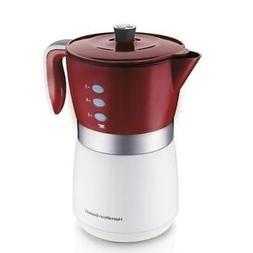 Hamilton Beach 5-Cup Personal Brewer Coffee Maker, 43700, Si