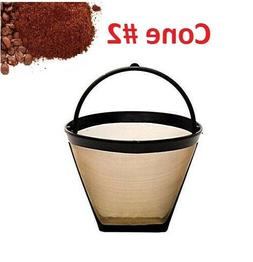 GoldTone Reusable #2 Cone Coffee Filter for Black + Decker C