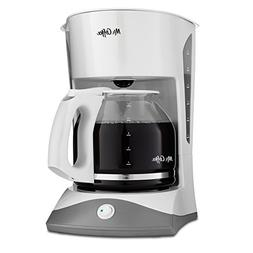 Mr. Coffee SK12NP Brewer - 12 Cup - White