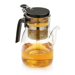 Teapot Kettle Glass Kitchen Coffee Tea Makers Elegant Home D